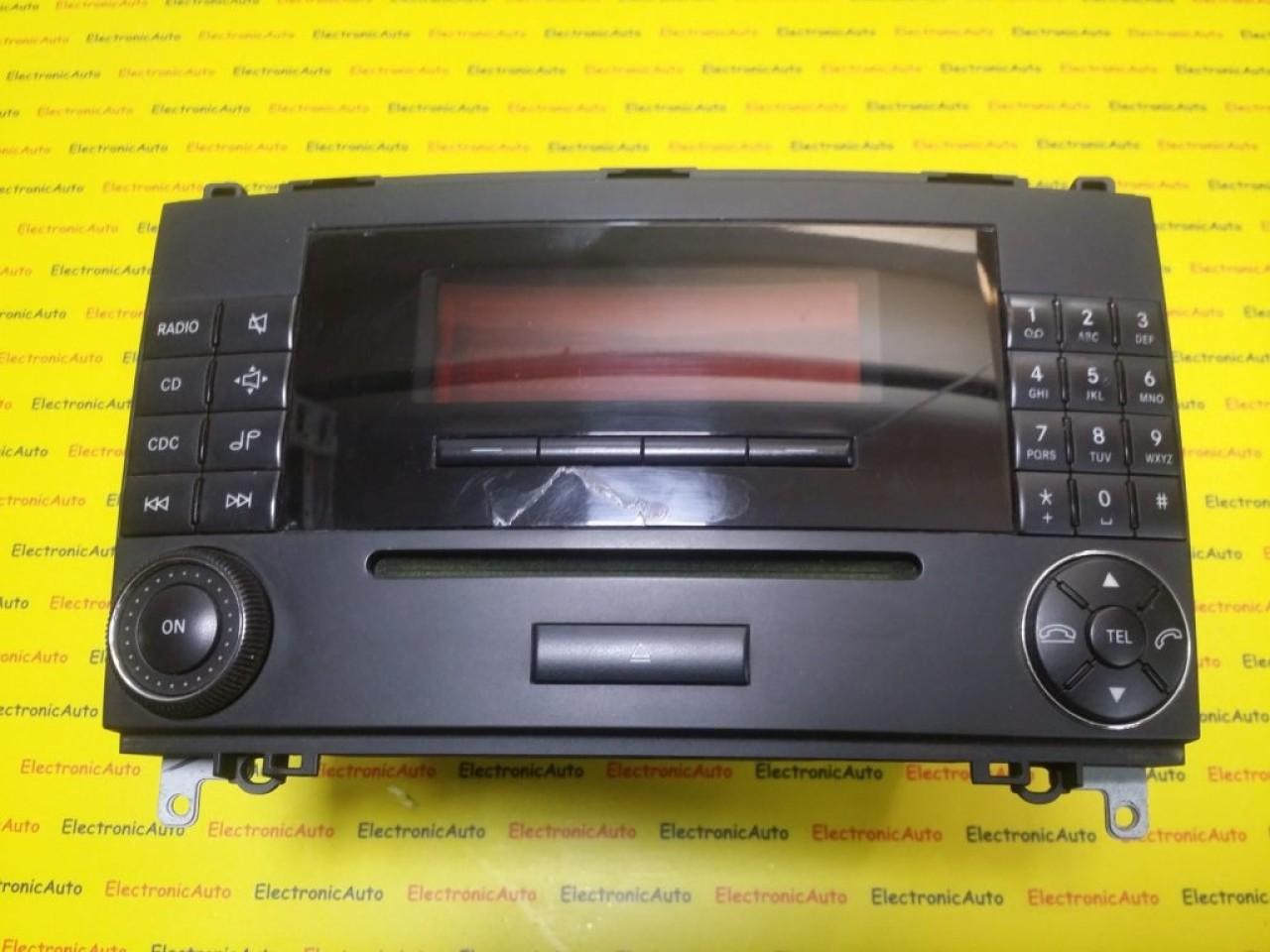 Radio CD Mercedes, A1698204789, MF2550