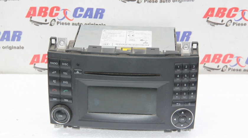 Radio CD Mercedes B-Class W245 cod: A1699002000 2005-2011