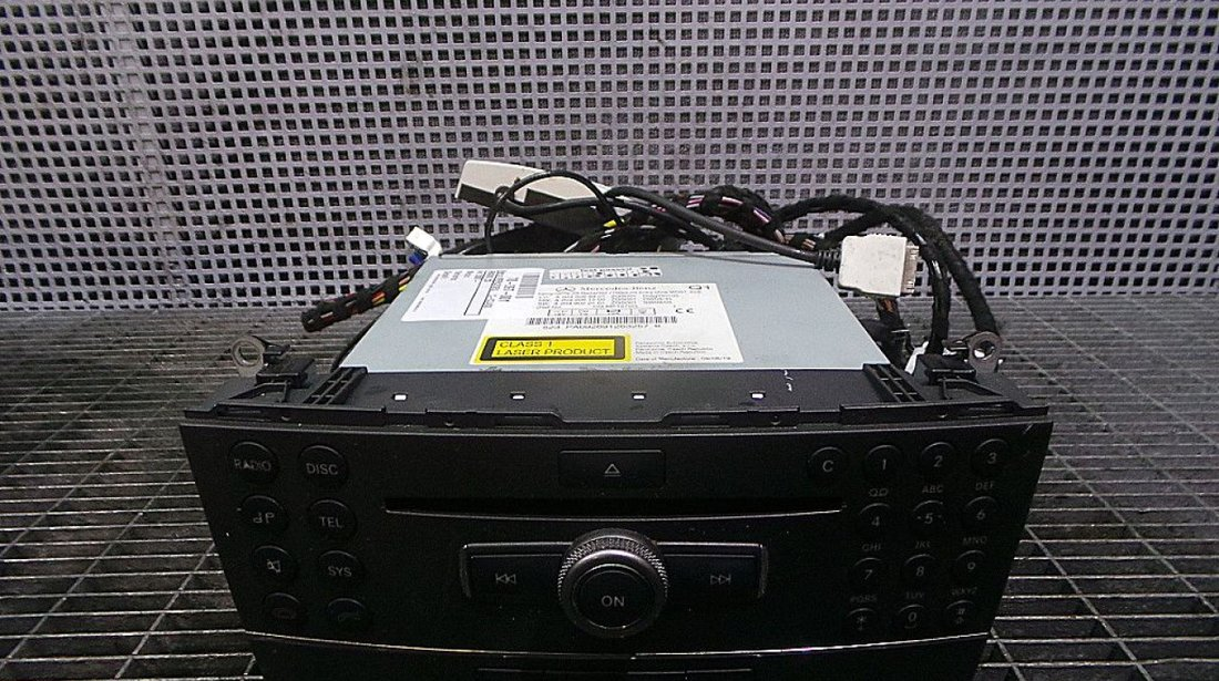 RADIO CD MERCEDES C-CLASS C-CLASS - (2007 2014)