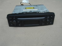 radio cd mercedes c class w203 an 2001-2006