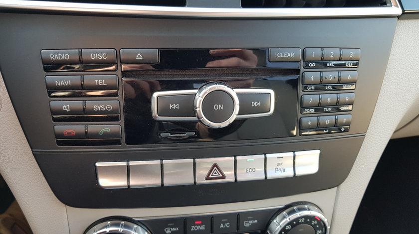 RADIO CD MERCEDES C-CLASS W204 FACELIFT