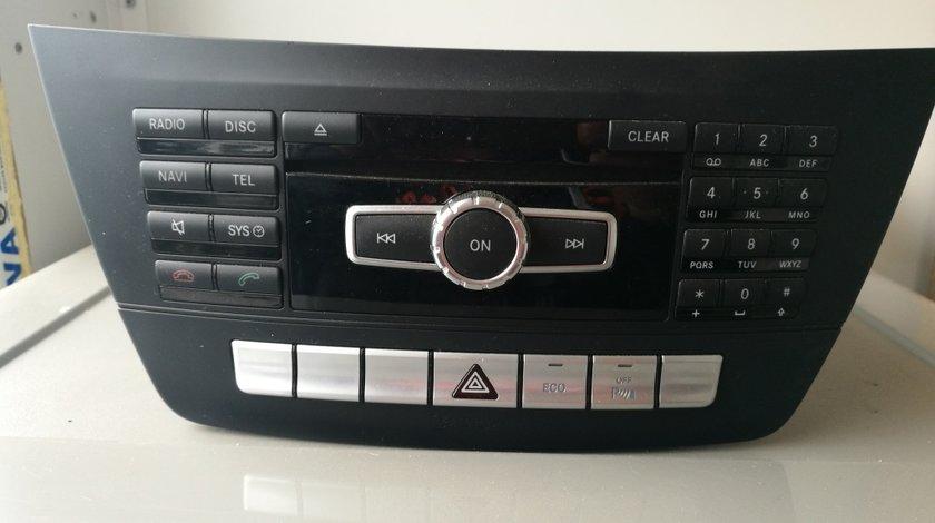 Radio CD Mercedes C220 CDI w204 facelift a2049003509