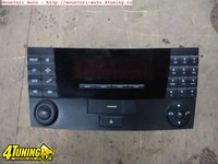 Radio cd mercedes e class w211 an 2002 2007