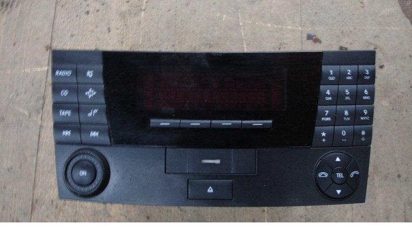 Radio cd mercedes e class w211 an 2004