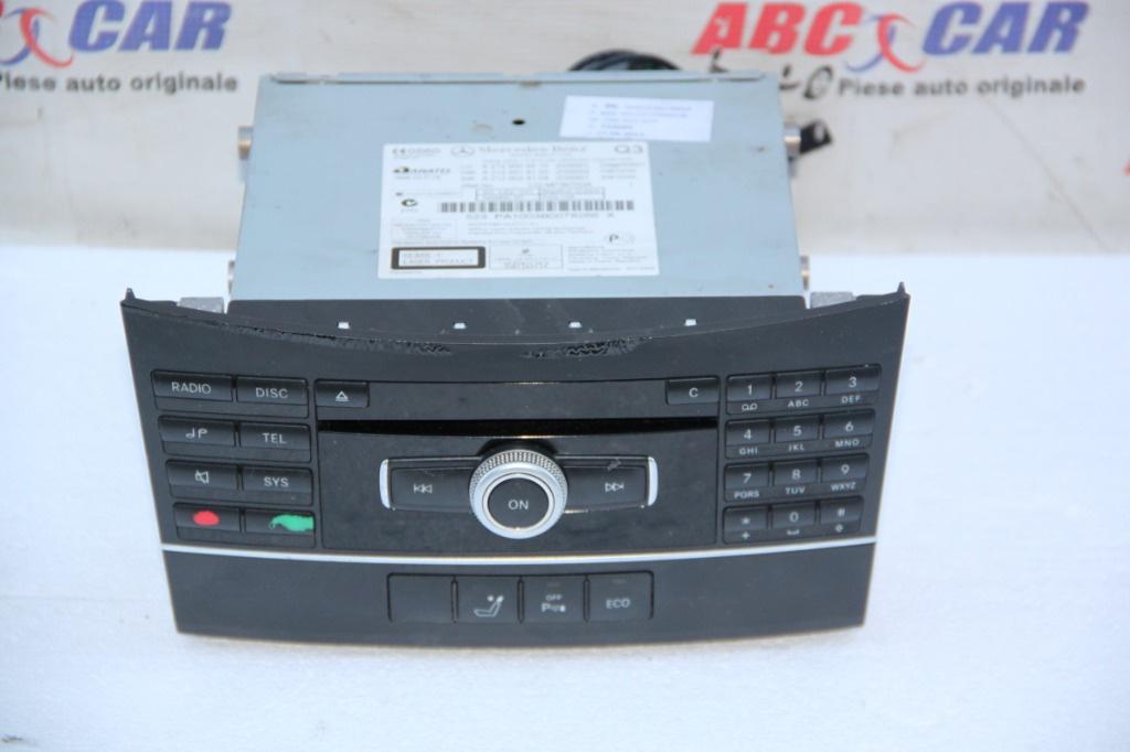 Radio CD Mercedes E-class w212 2010-2016 cod: A2129004910