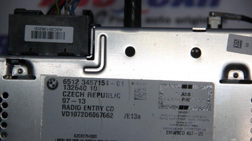 Radio CD Mini Cooper Clubman R55 cod: 65123457154-01 model 2010
