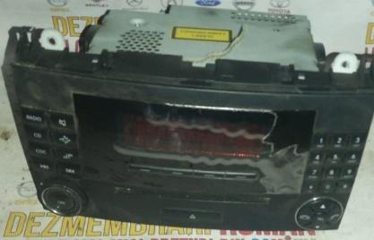 Radio cd mp 3 player a b class a200 w169 136cp motor 2.0cdi cod 640