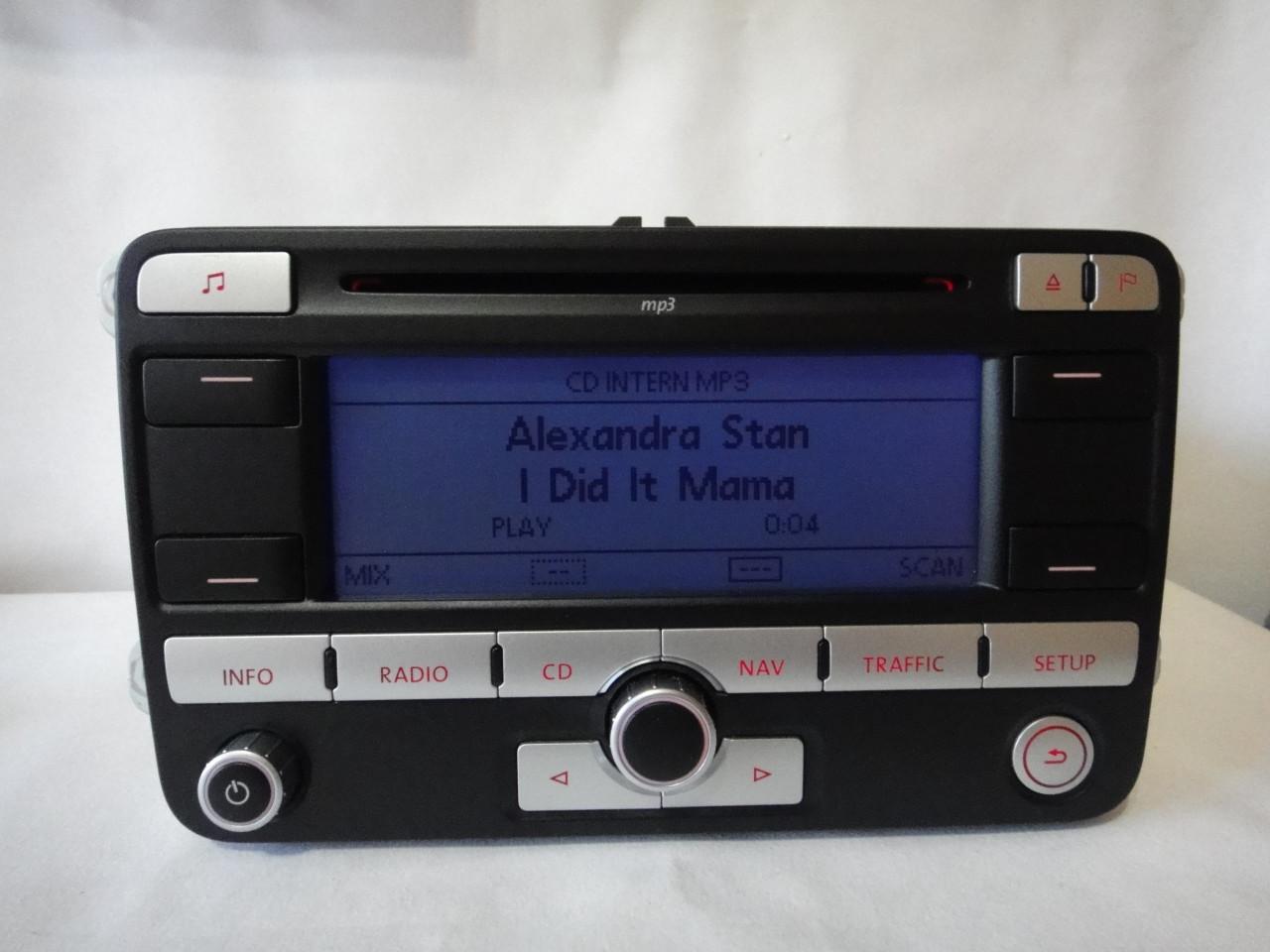 Radio Cd Mp3 OEM Volkswagen Cu Navigatie Rns300