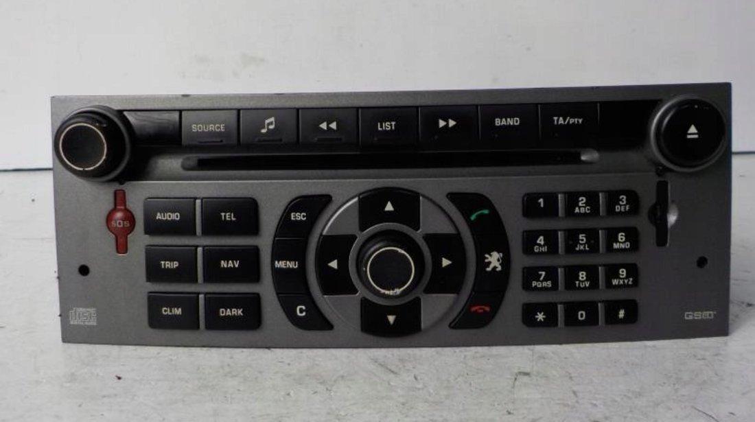 Radio CD MP3 player Peugeot 407 an 2004 - 2018 cod 96565708YW