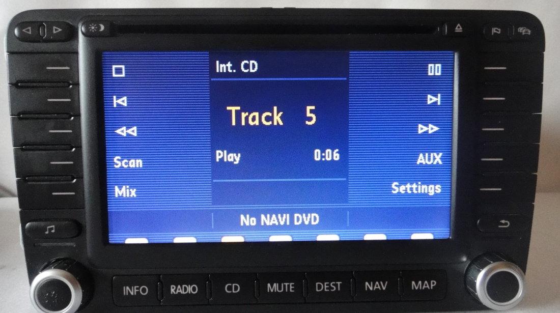 Radio Cd Navigatie OEM Mfd2 DvD Volkswagen Skoda Seat AUX