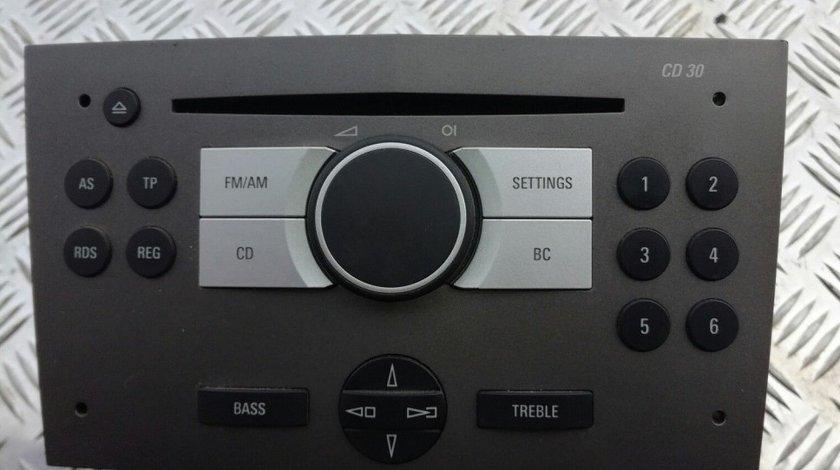 Radio CD Opel Astra H Cu Security Code Cod 13190856 \ 13 190 856