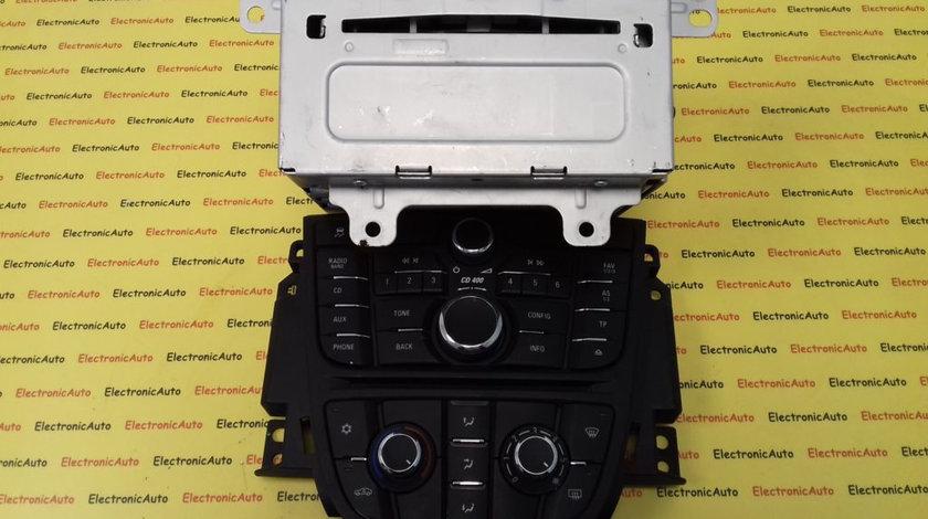 Radio CD Opel Astra J, 22936573, 13346050, 13346092