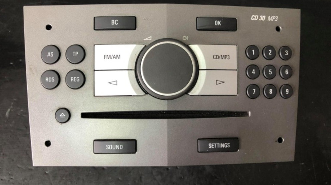 Radio cd opel zafira b 34418312 13251048
