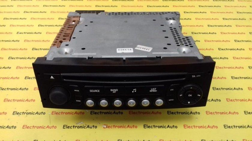 Radio CD Peugeot 207, 96639628XT (6WK5)