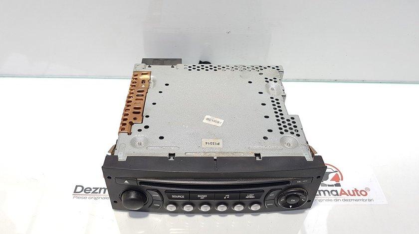 Radio cd, Peugeot 207 SW, cod 96643697XT
