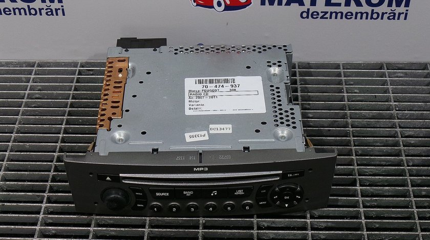 RADIO CD PEUGEOT 308 308 - (2007 2011)