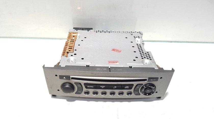 Radio cd, Peugeot 308, cod 96650205XH (id:386579)
