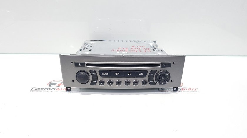 Radio cd, Peugeot 308, cod 96662671XH (id:364606)