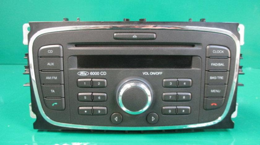 RADIO / CD PLAYER AUTO COD 7M5T-18C815-BC FORD FOCUS 2 FAB. 2004 – 2010 ⭐⭐⭐⭐⭐