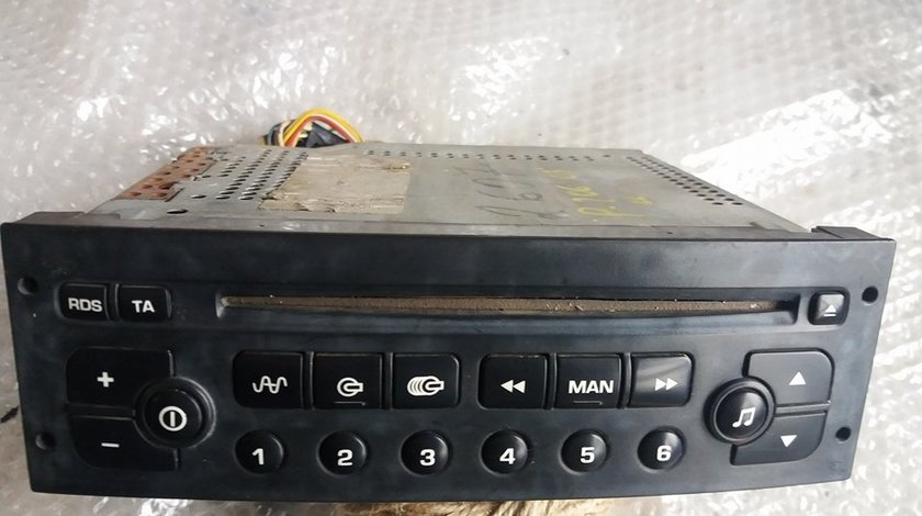 Radio cd player auto peugeot 206 cc 1.6 benz nfu 2003 96489417