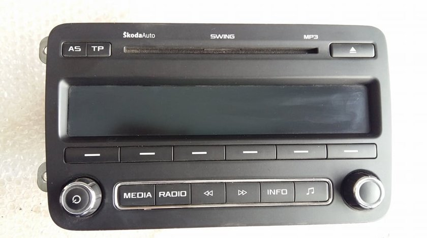 Radio cd player auto skoda roomster 2011 5j0035161d