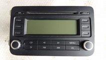 Radio cd player auto vw golf 5 plu5 2005-2013 5m00...