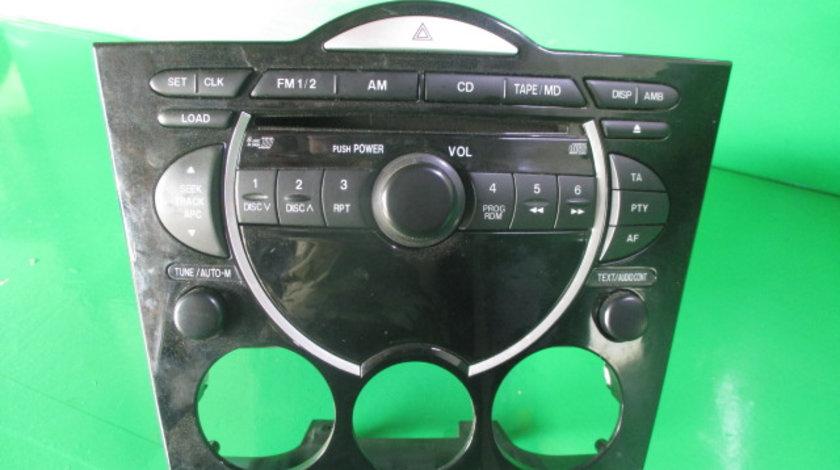 RADIO CD PLAYER COD FE1766DSX MAZDA RX-8 SE17 1.3 BENZINA FAB. 2003 – 2012 ⭐⭐⭐⭐⭐