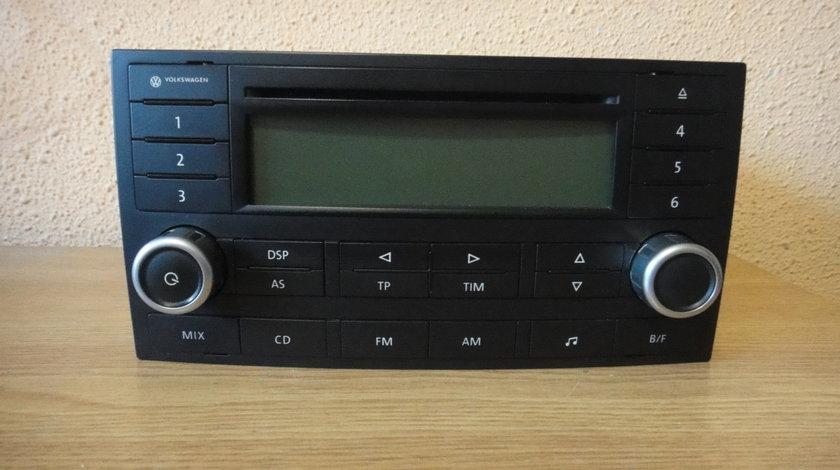 Radio Cd Player delta Original Volkswagen Touareg T5