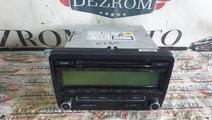 Radio CD-Player MP3 VW Passat B6 cod piesa : 1K003...