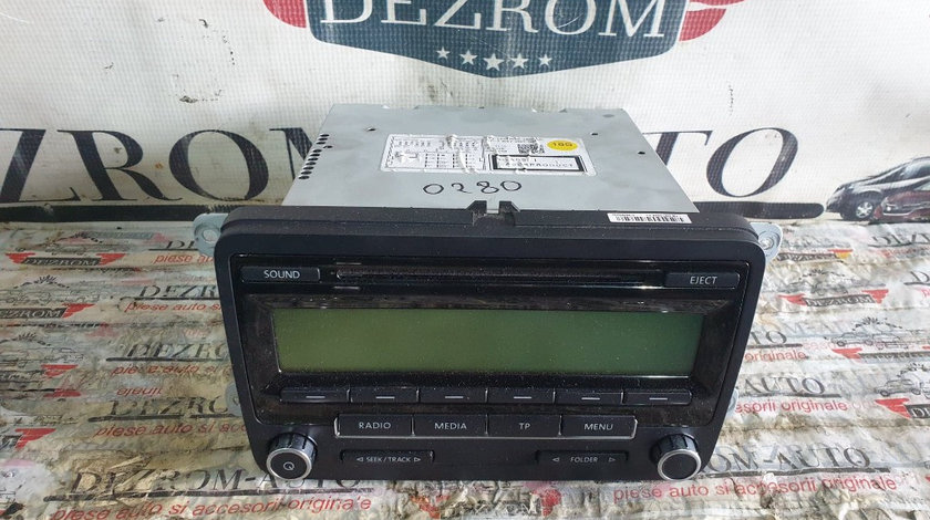 Radio CD-Player MP3 VW Passat B6 cod piesa : 1K0035186AA