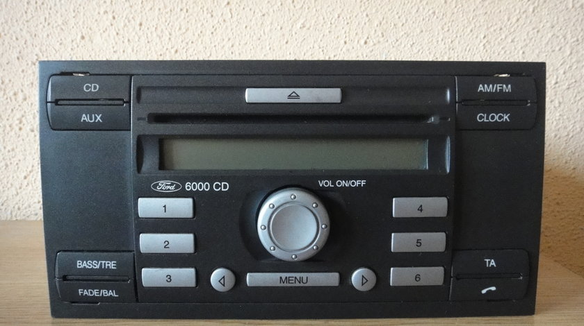 Radio Cd Player OEM Ford 6000CD Aux