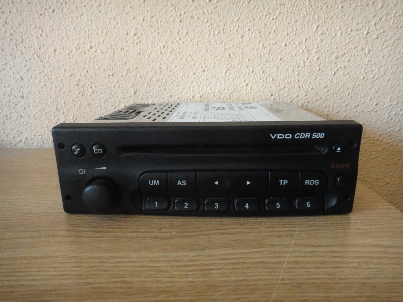Radio Cd Player Original Opel VDO CDR500