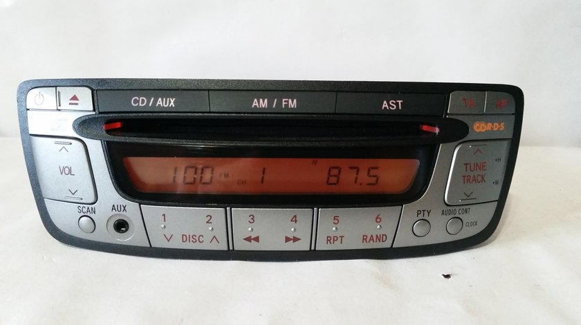 Radio cd player original peugeot107 citroen c1 toyota aygo