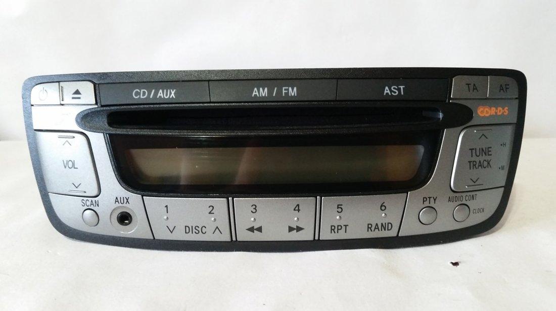 Radio cd player original peugeot107 citroen c1 toyota aygo