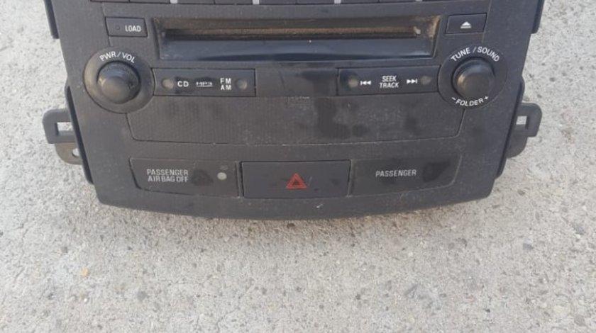 Radio CD Player Peugeot 4007 DY 3W69U 2
