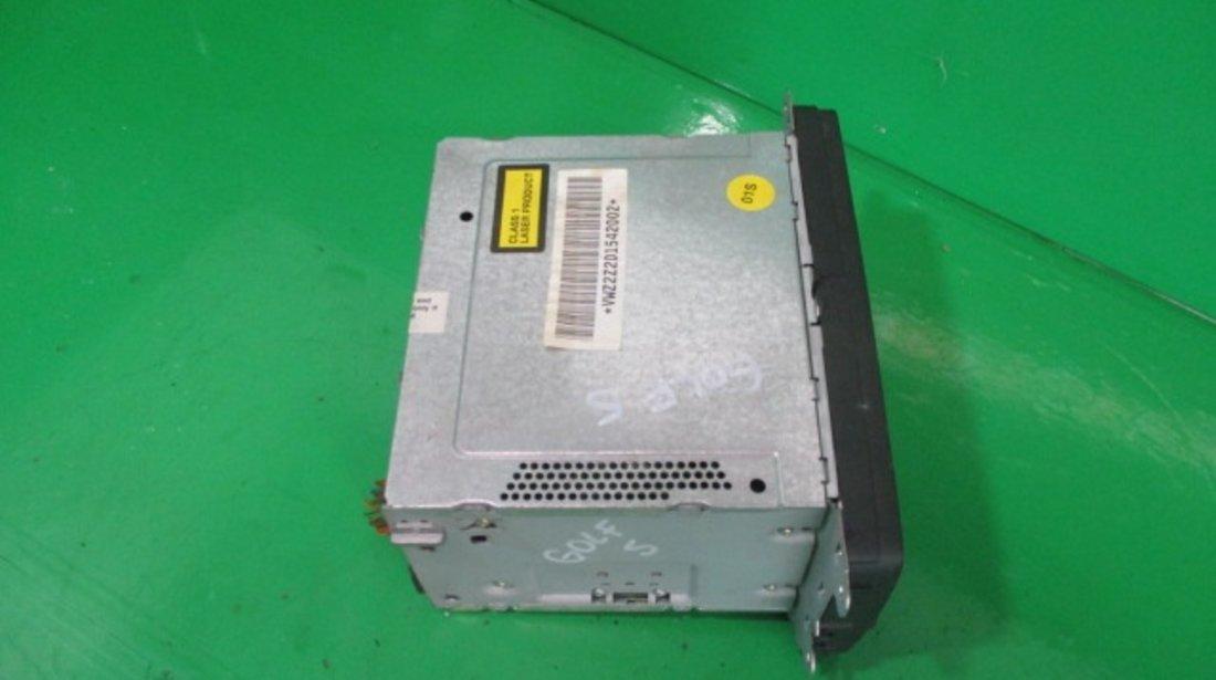 RADIO CD PLAYER VW GOLF 5 FAB. 2003 - 2009 ⭐⭐⭐⭐⭐