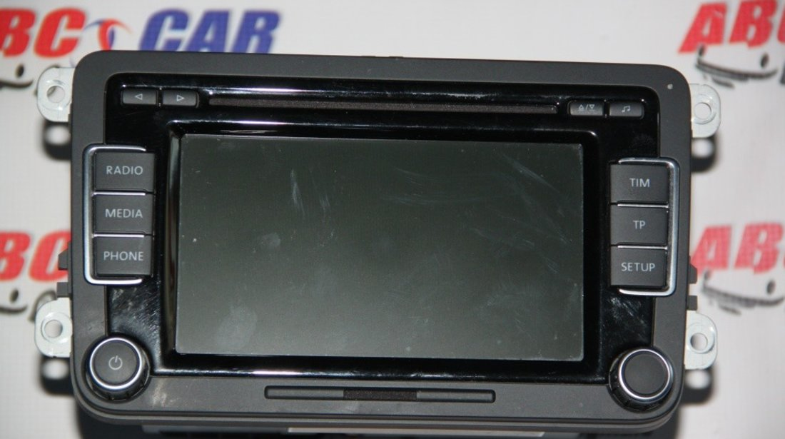 Radio CD RCD 510 VW Golf 6 cod: 3C8035195F model 2011