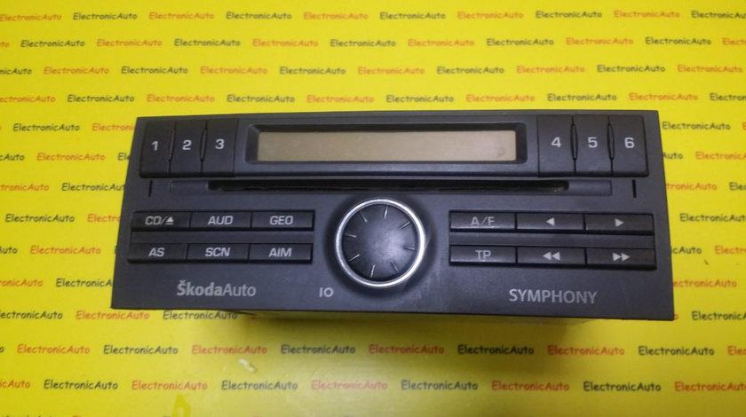 Radio CD Skoda Fabia, 6Y0035156E, SKZAZ9F4824648