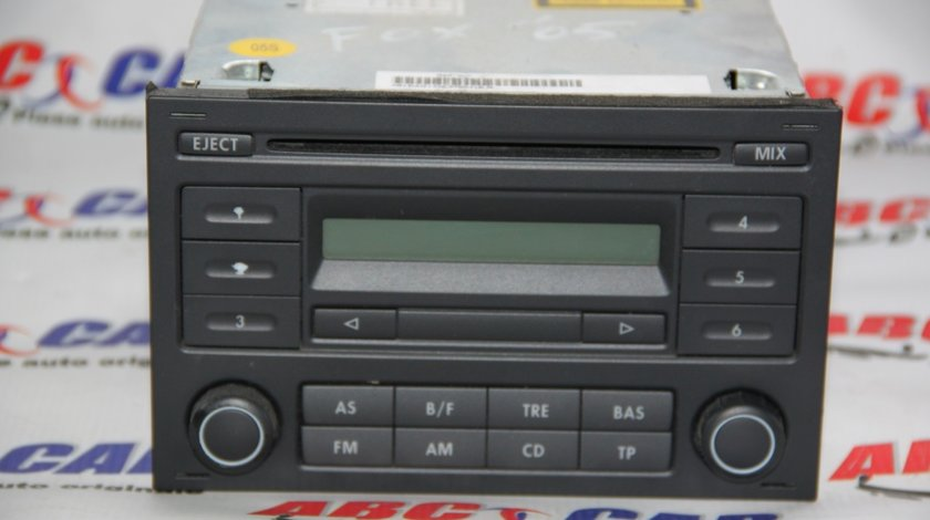 Radio CD VW Fox cod: 5Z0035152 model 2007