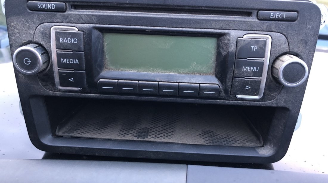 Radio CD VW Golf 5 6, Jetta, Passat, Touran 1K0035156A 1K0 035 156 A MP3