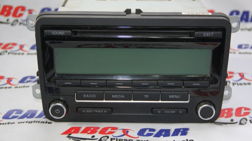 Radio CD VW Golf 5 cod: 1K0035186AA model 2007