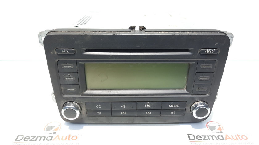 Radio cd, Vw Golf 5 Plus (5M1) [Fabr 2005-2008] (id:446332)