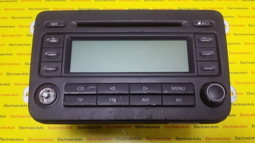 Radio CD Vw Passat, Golf, Touran, Caddy, 1K0035186L, 7643221360