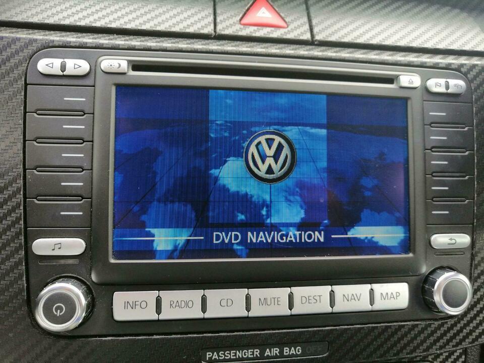 Radio cu navigatie original VW, CD / DVD player, 1K0 035 198 C (RNS2 MFD2)