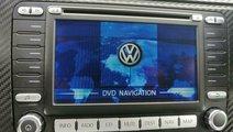 Radio cu navigatie original VW, CD / DVD player, 1...