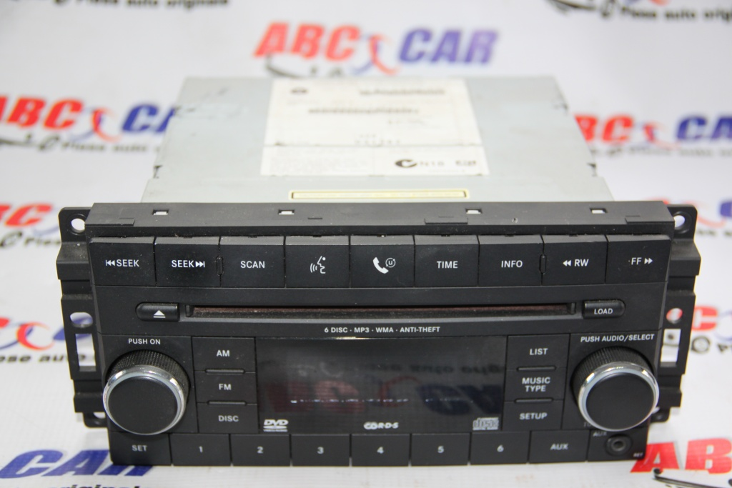 Radio Jeep Grand Cherokee cod: 05064943AD model 2009
