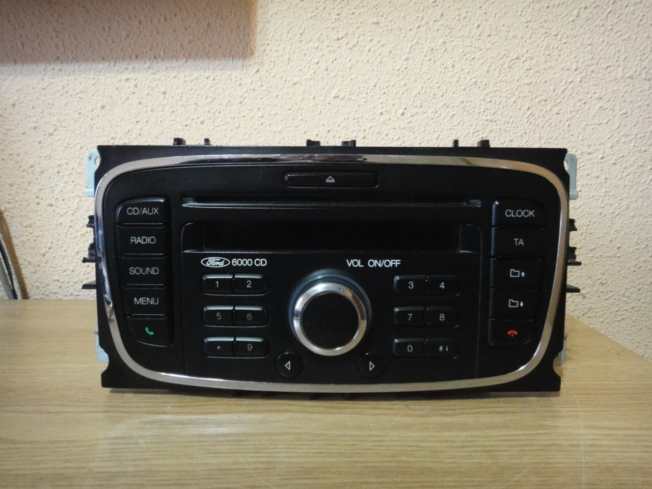 Radio Mp3 Player OEM Ford 6000 Cd 2005-2014