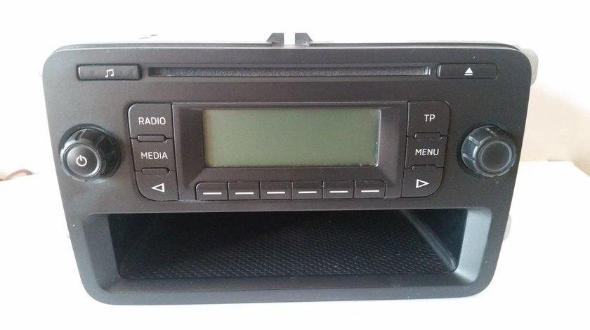 Radio Mp3 Player Original Skoda Rapid Octavia Blues