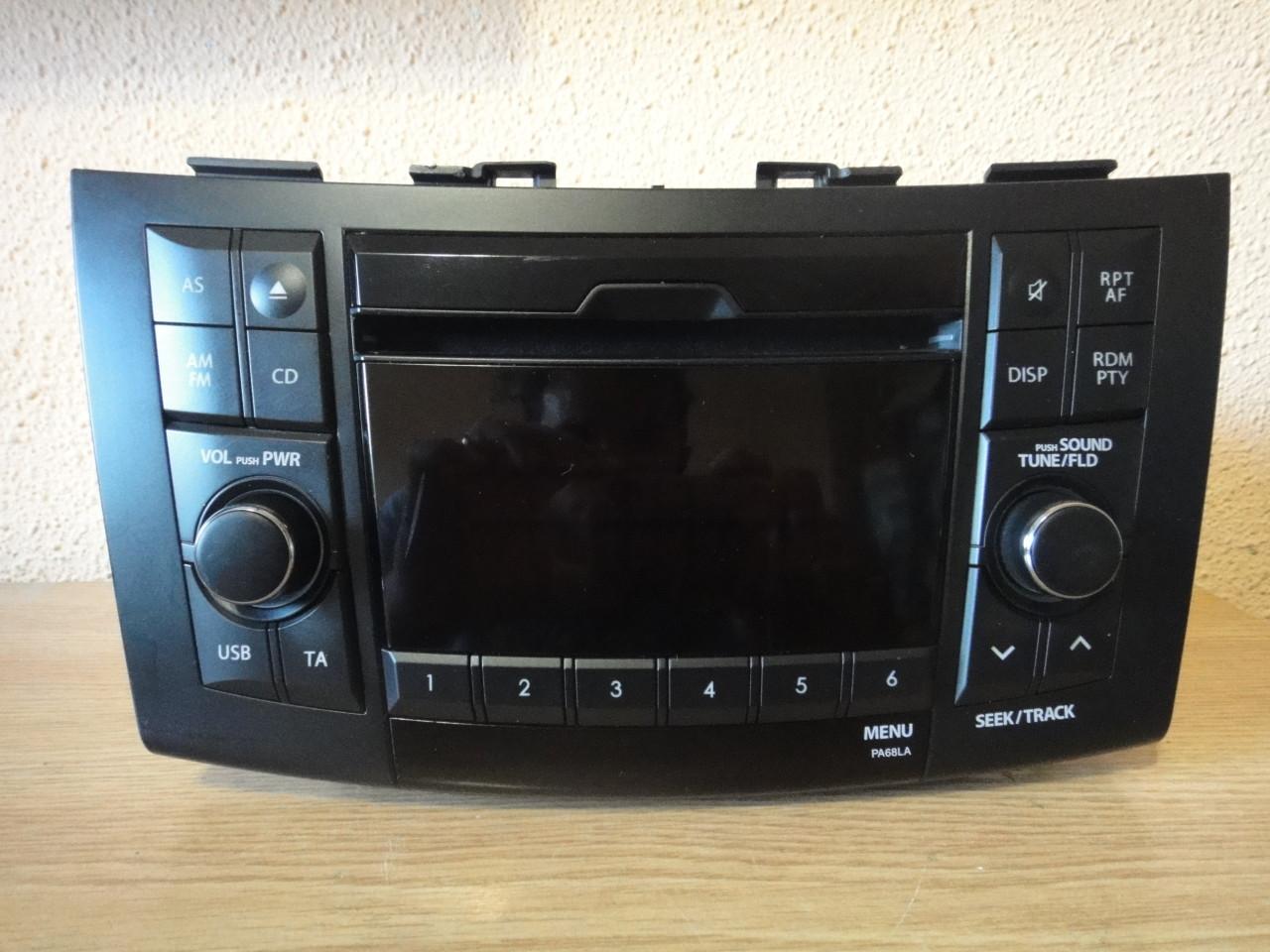 Radio Mp3 PLayer Suzuki Swift 3 Usb Aux