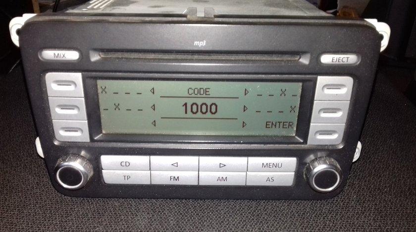 Radio RCD 300 Mp3 Grundig, original VW Passat B6, Golf5, Caddy, Touran